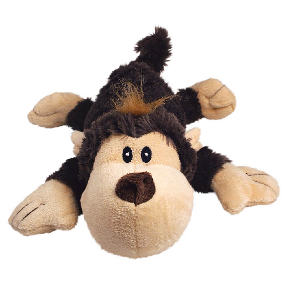 KONG COZIE Brown Funky Monkey Plush Toy
