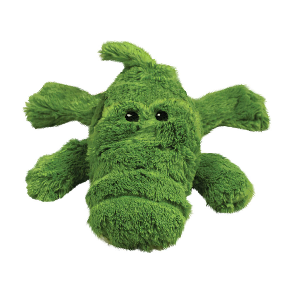 KONG COZIE Green Ali the Alligator Plush Toy