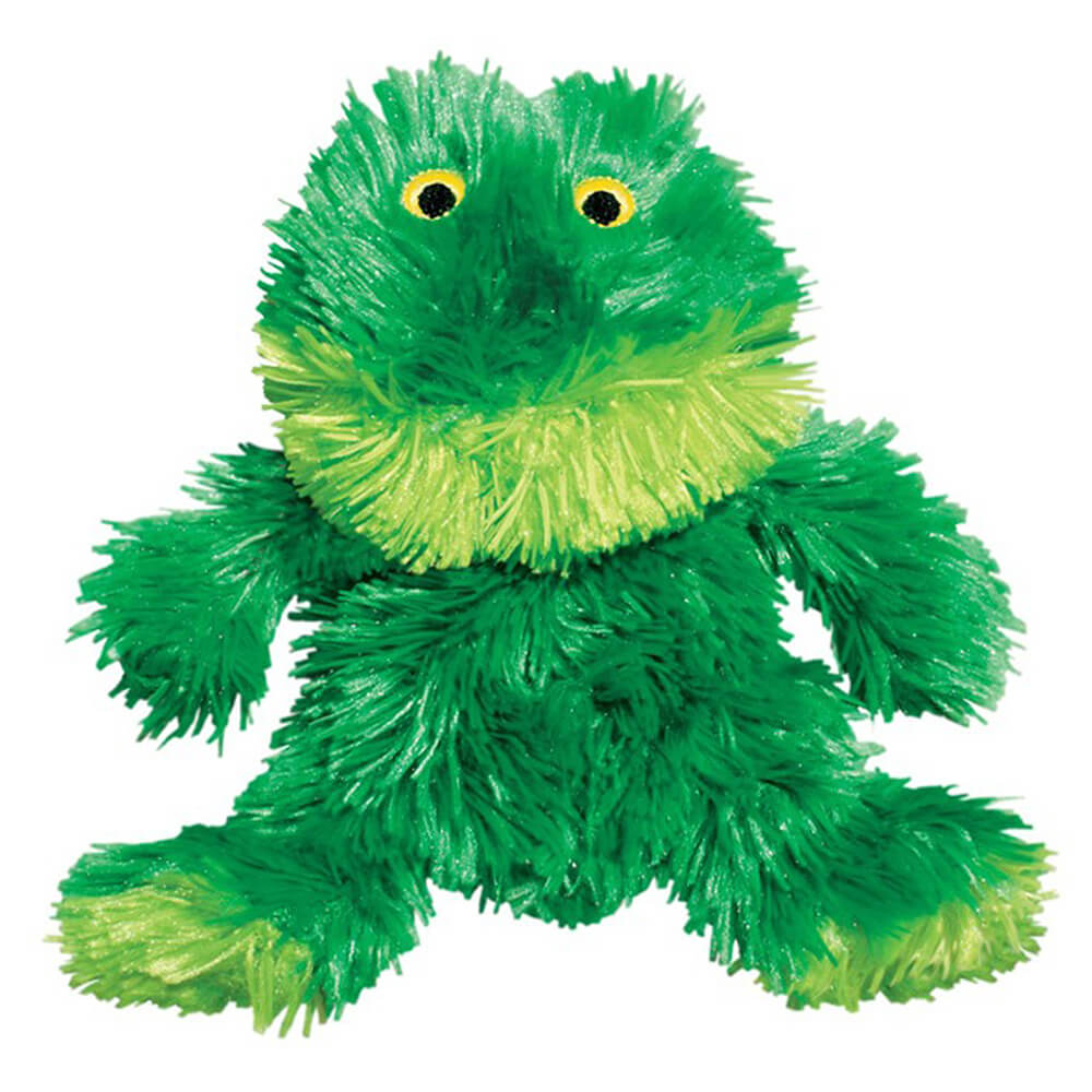 KONG Green Frog Plush Toy