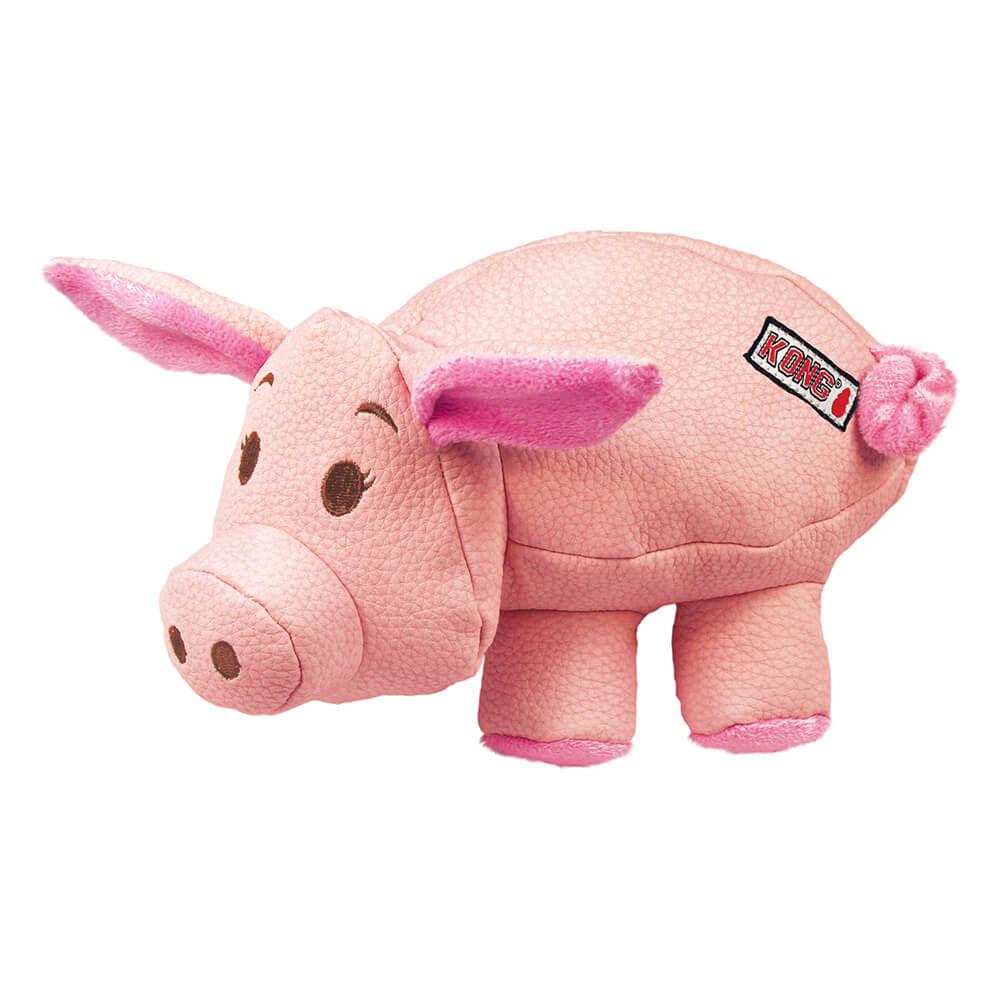 KONG PHATZ Pink Pig Squeak Toy