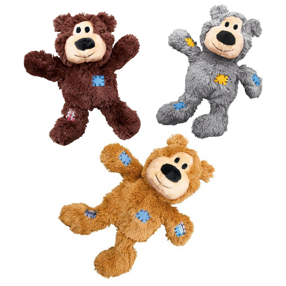 KONG Wild Knots Bear Plush Toy