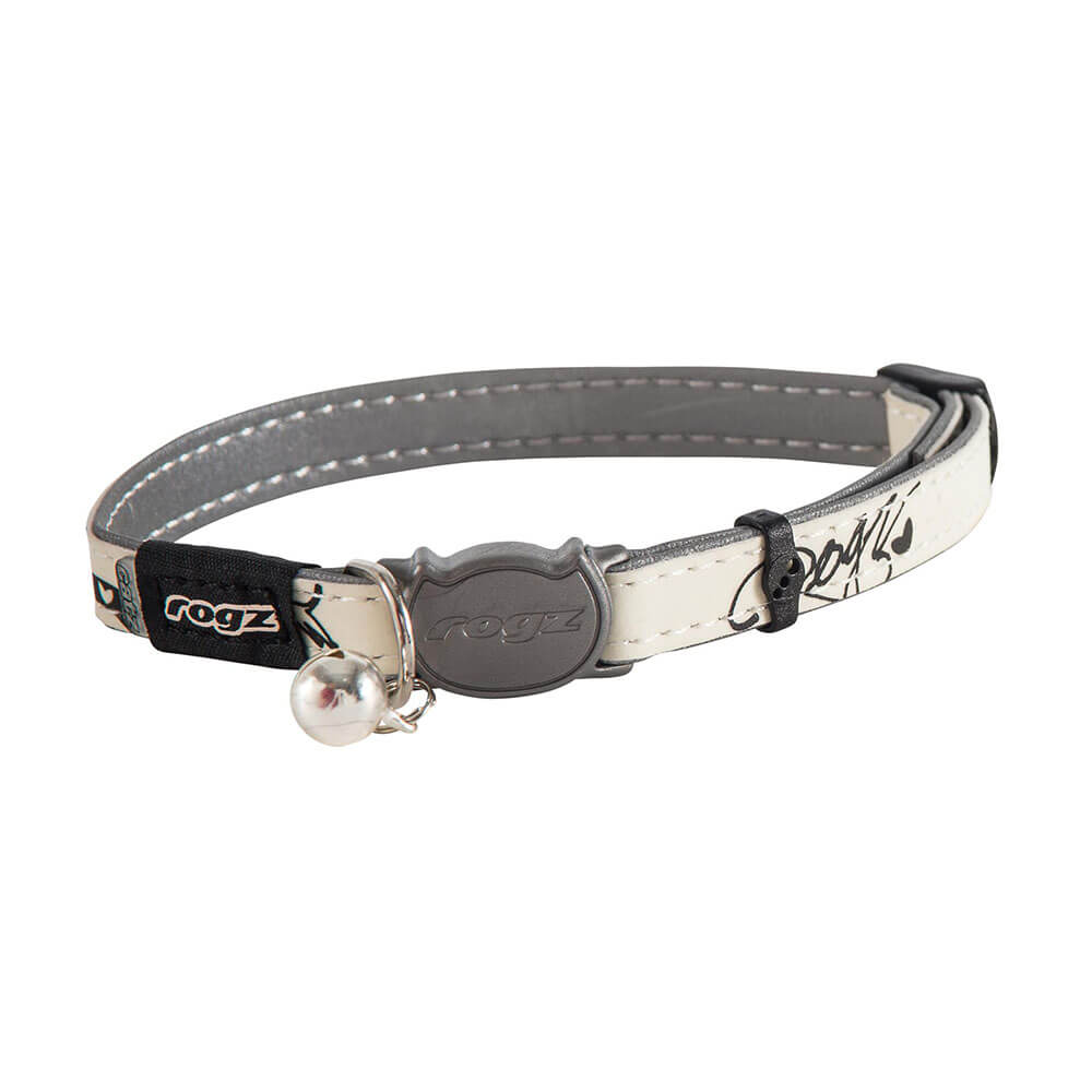 Reflective Glow-in-the-Dark Safeloc Breakaway Cat Collar
