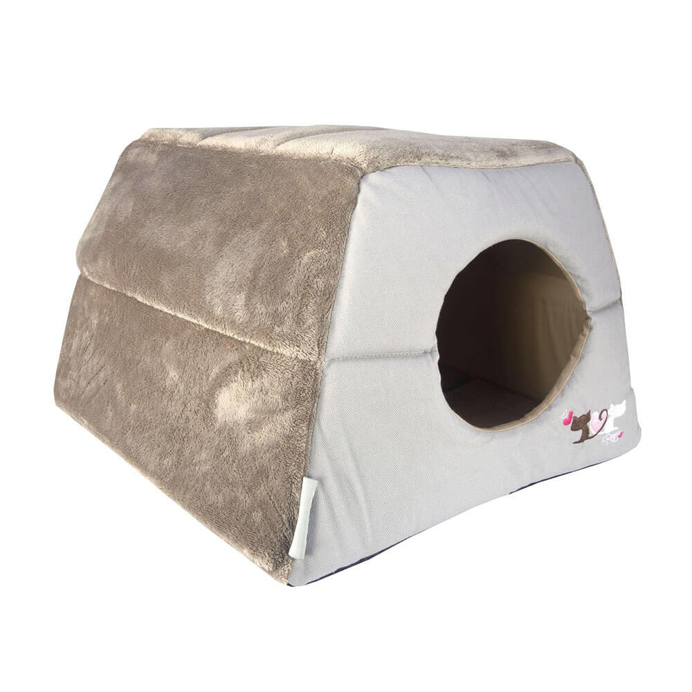 Rogz Catz Multi-Purpose Grey Igloo Cat Bed
