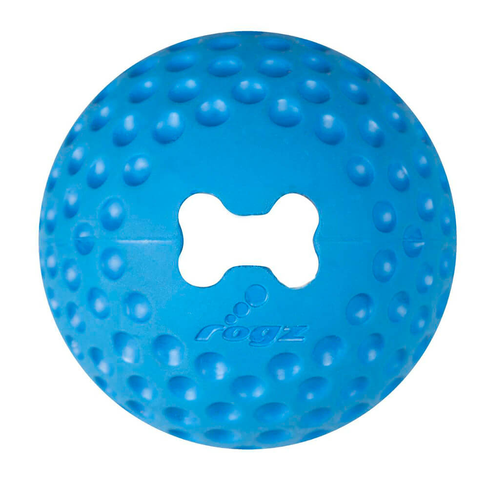 Rogz Gumz Blue Dog Treat Ball