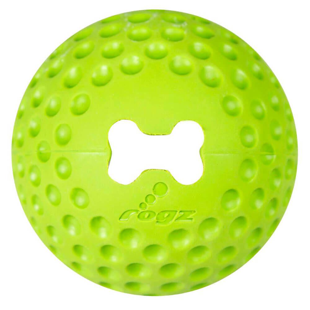 Rogz Gumz Lime Dog Treat Ball