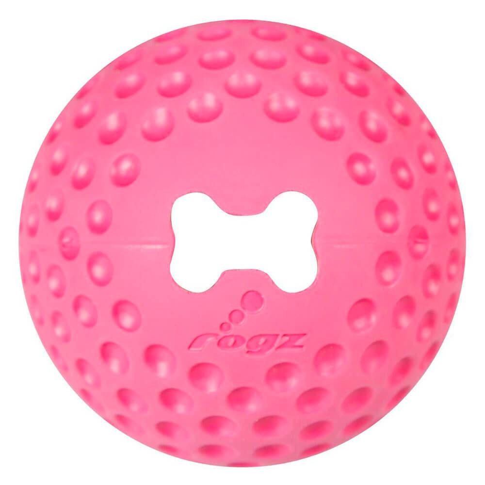 Rogz Gumz Pink Dog Treat Ball