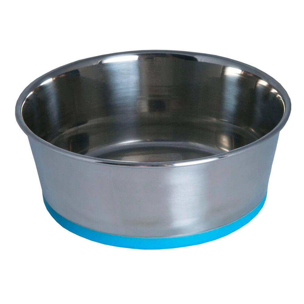 Rogz Stainless Steel Slurp Dog Bowl