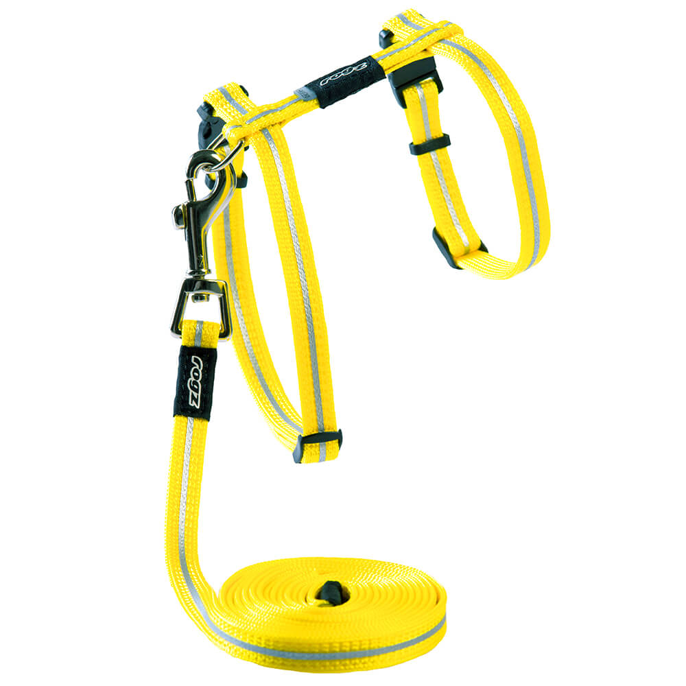 Safeloc Breakaway Cat H-Harness & Lead Combination