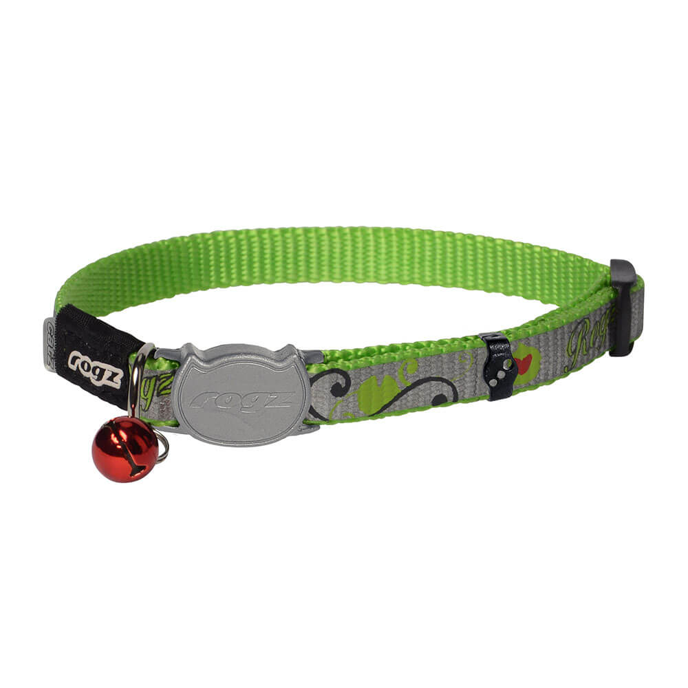 Rogz Catz ReflectoCat Reflective Safeloc Breakaway Cat Collar