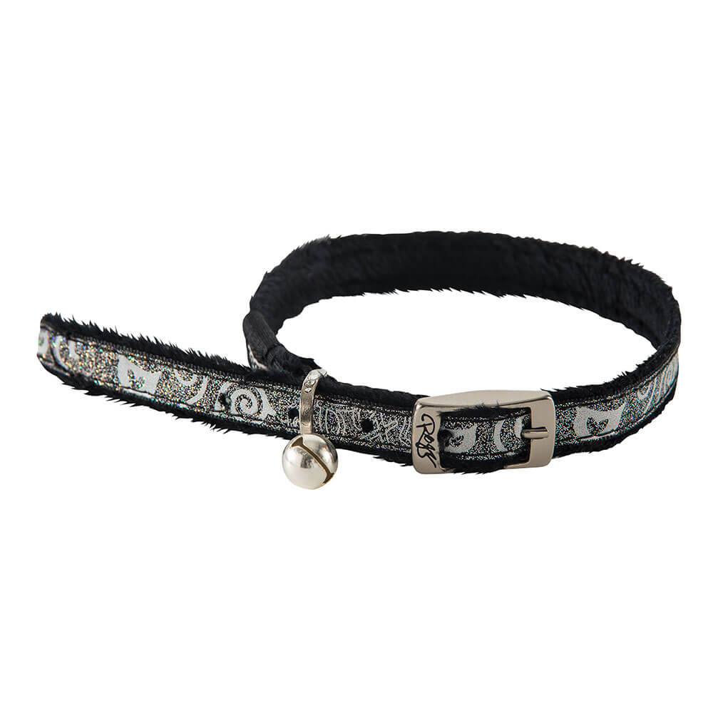 Rogz Catz SparkleCat Pin Buckle Cat Collar