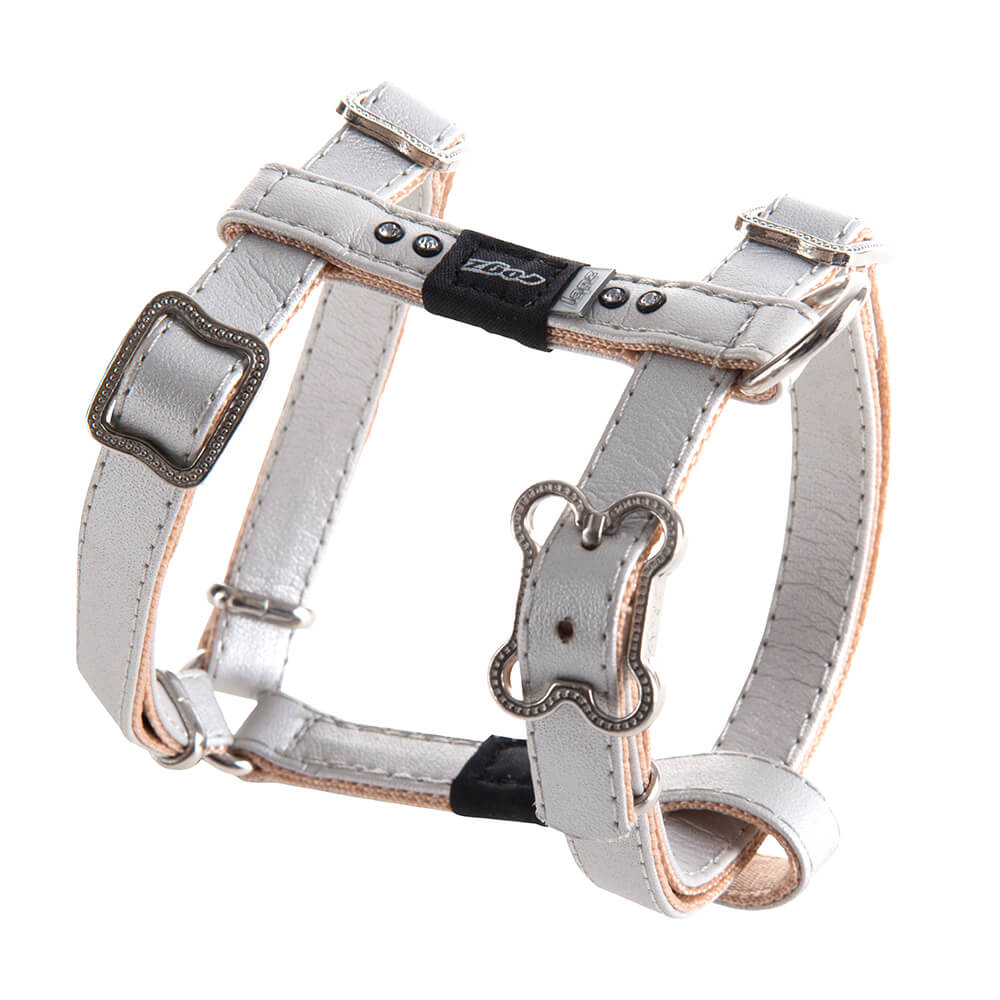Rogz Lapz Luna Adjustable Dog H-Harness