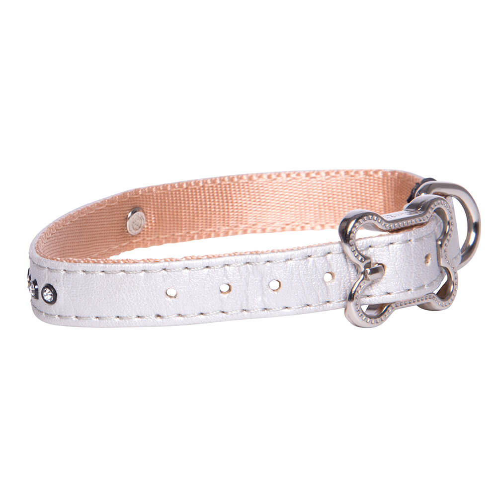 Rogz Lapz Luna Pin Buckle Dog Collar