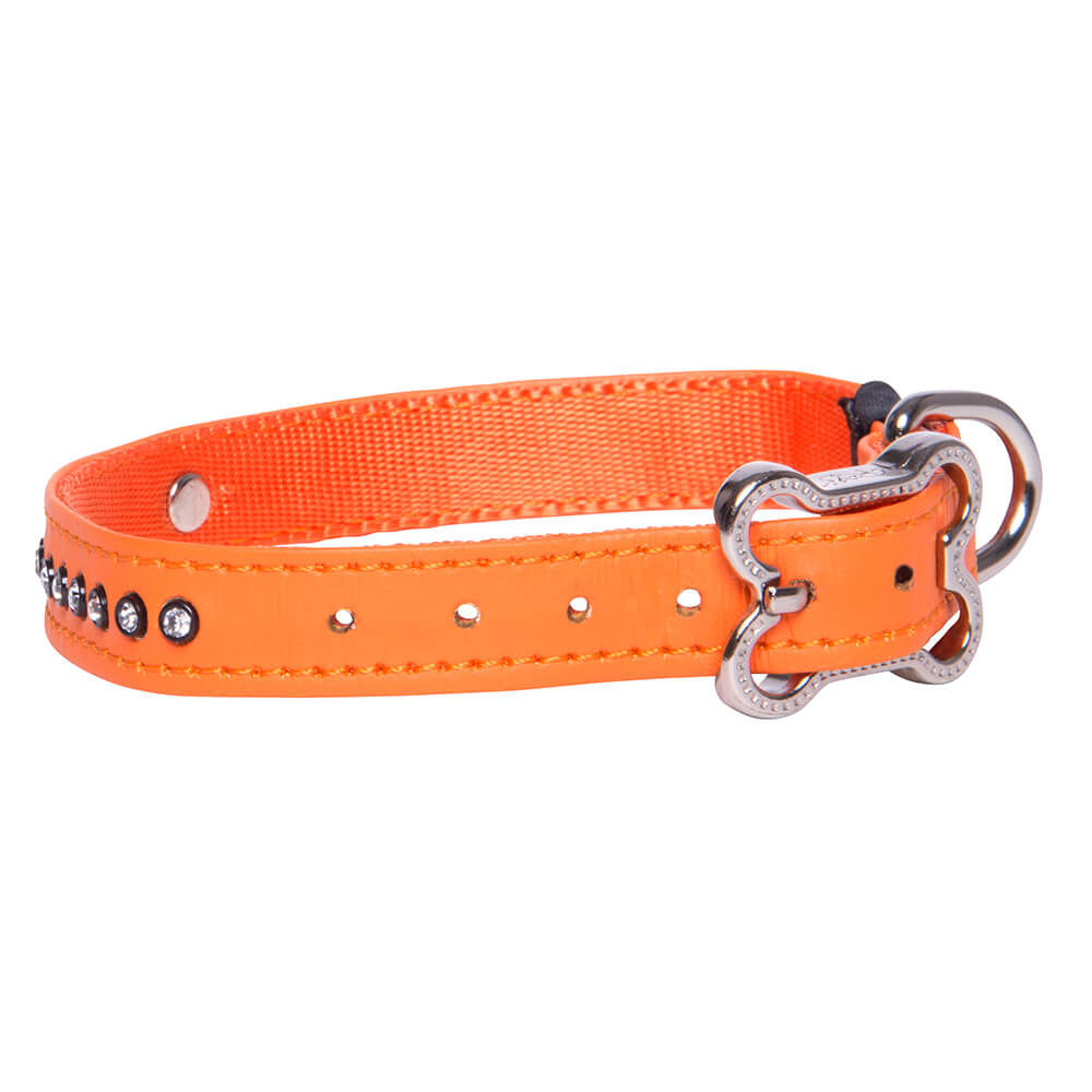 Rogz Lapz Luna Pin Buckle Dog Collar