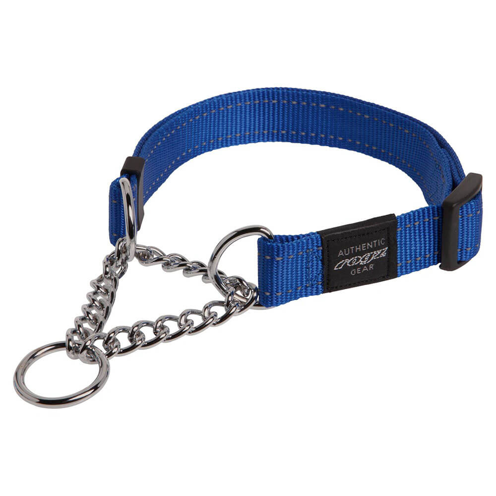 Rogz Reflective Utility Half-Check Obedience Dog Collar