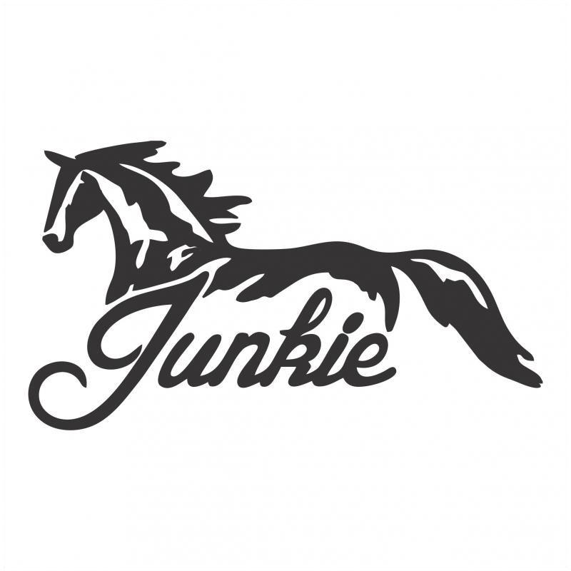 Best Buddy - Horse Junkie Sticker